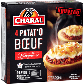 La Patat'o boeuf de Charal
