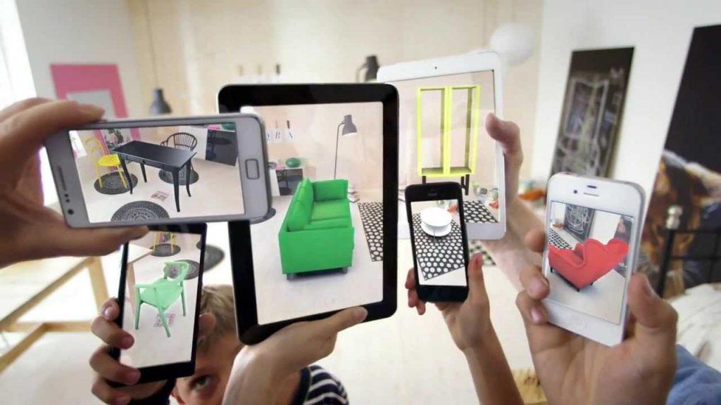 Une démonstration de la réalité augmentée chez Ikea.